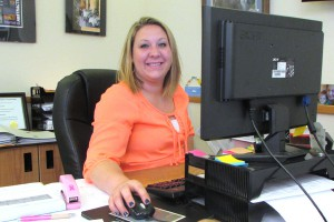 This photo shows Brittani Bell, Admissions Coordinator
