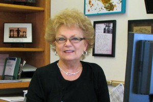 This photo shows Vickie Warshaw, Admissions Representative
