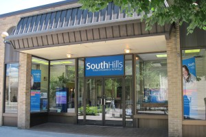 South Hills Lewistown front door