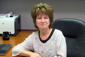 This photo shows Ellen Spinelli, Career Services Coordinator
