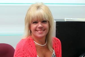 This photo shows Christine Sulouff