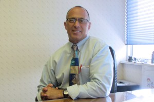 This photo shows Mark Maggs, Director of the State College Campus