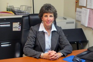 This photo shows Sue Vidmar, Assistant Director of Education