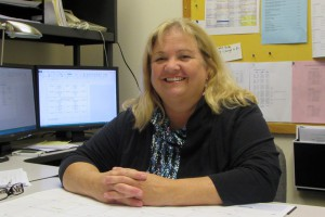 This photo shows Ingrid Thompson, Academic Affairs Officer