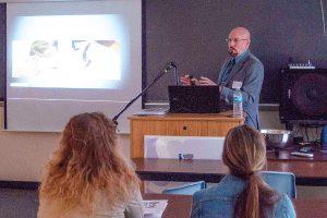 Guest speaker at the Sonographer symposium