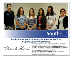 State College Administrative Medical Assistant & Medical Assistant Program Advisory Committee
