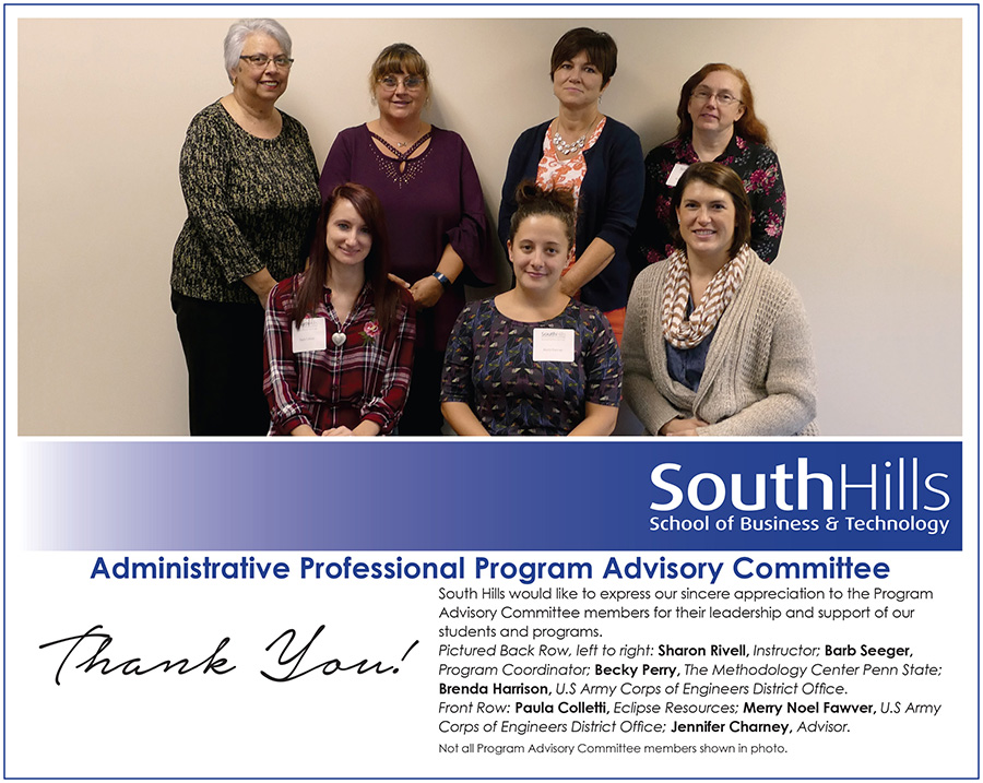 State College Administrative Professional Program Advisory Committee