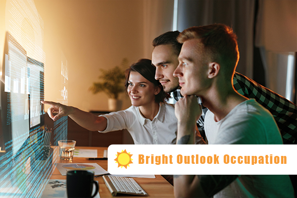 Bright Outlook Occupation Software Developers