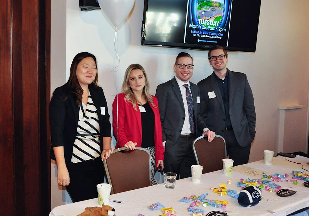 Shanna Servant - PSU HR Specialist, Elizabeth Cummings - PSU HR Specialist, Mike Keller - PSU Multimedia Specialist, and Brady Ney - PSU HR Senior Specialist