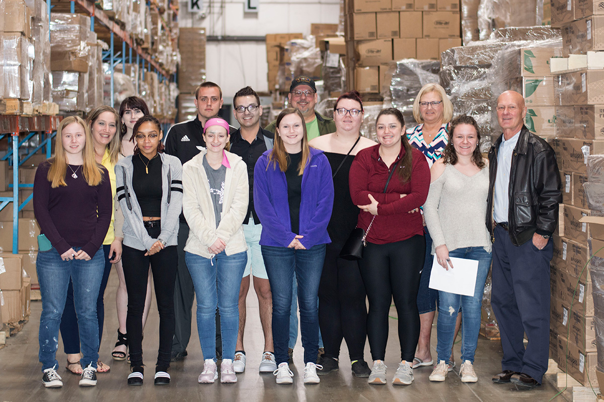 South Hills Students Tour Lewistown Paper Company