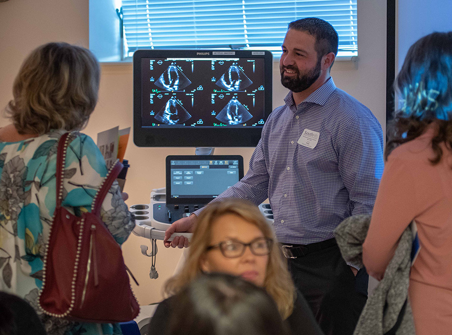The 2019 Sonographers' Symposium, in its eighth year, attracted over a hundred attendees from six states.