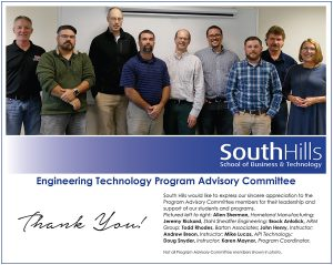 State College Engineering Technology Program Advisory Committee