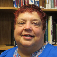 This photo shows Suzanne Feathers, Medical Assistant Program Coordinator and Instructor at the Altoona campus
