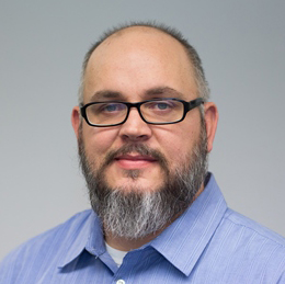 This photo shows Jeff Foflygen, Information Technology Instructor at the Lewistown Campus
