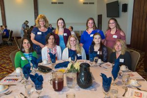 Faculty and students at the Appreciation Luncheon