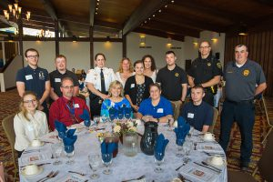 Faculty, students and employers at the Appreciation Luncheon