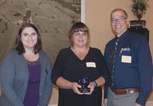 South Hills Administrative Professional Instructor with Educator of the Year Award