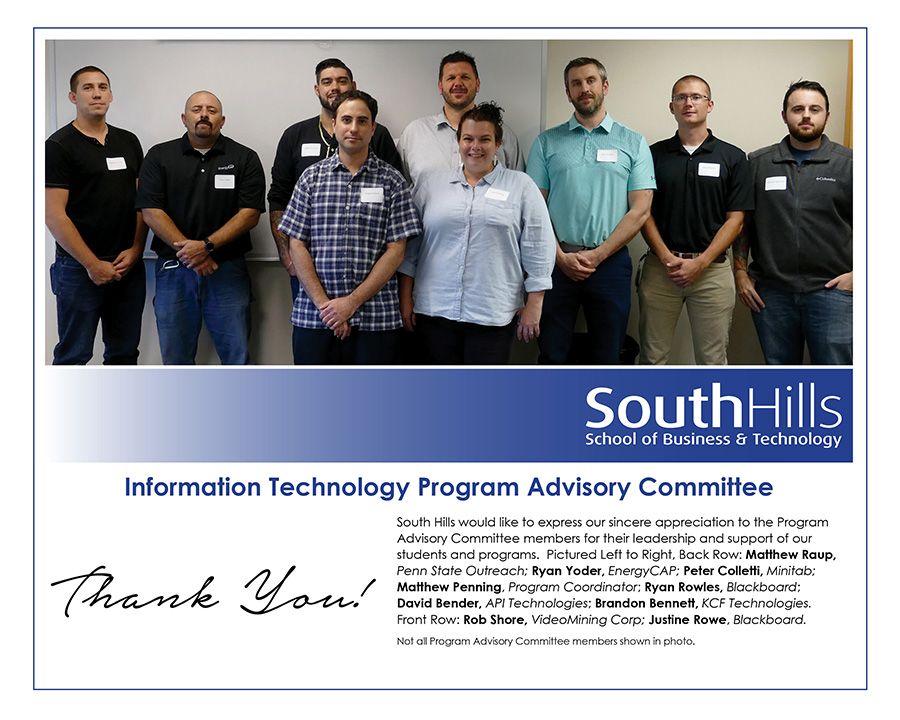 State College Campus Information Technology Program Advisory Committee