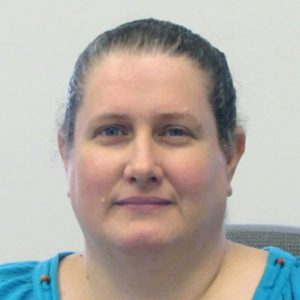 This is a photo of Altoona Network Administrator Jodi Jeffries.