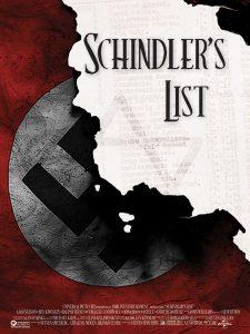 """""""Schindler's List"""" Movie Poster"""
