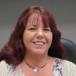 This is a photo of Systems Administrator Michele Lucas.