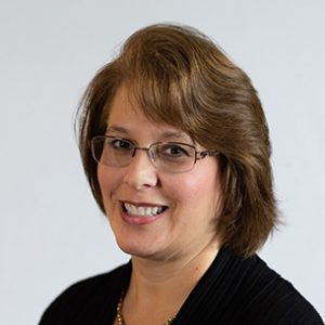 This photo shows Mindy Rok, Business Administration Accounting Instructor at the Altoona Campus