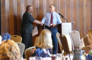 State College Campus Director, Mark Maggs and Owner of Keystone Investigation & Security Specialists, LLC, Bernard Chatman