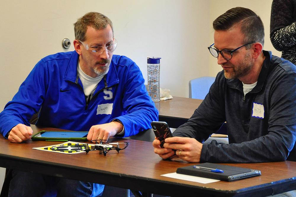 PAECT/SHSBT drone workshop participants