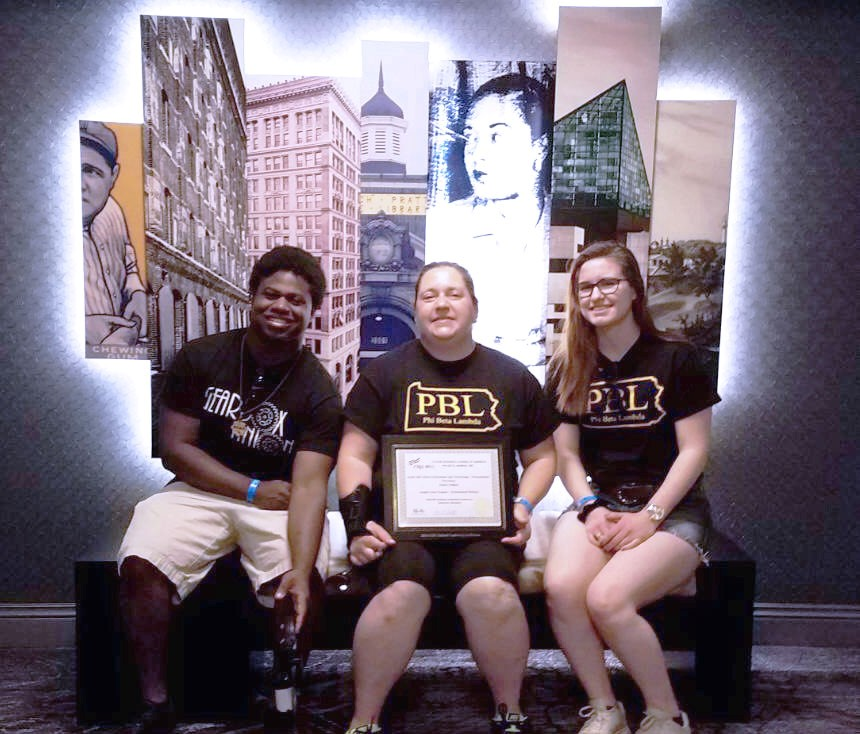 Phi Beta Lambda Students at the National Conference