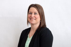 This is a photo of Rachel Yoder of the Academic Affairs department.