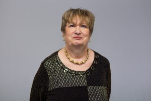 This photo shows Peggy Reams, Lifelong Learning Assistant