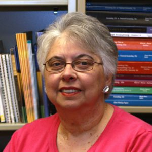 This photo shows Sharon Rivell, Administrative Professional Instructor at the State College Campus