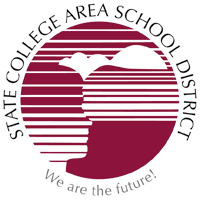 Logo for the State College Area School District
