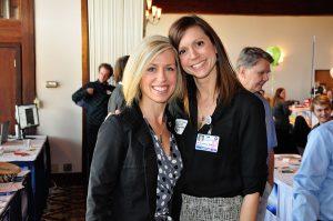 Diagnostic Medical Sonography Program Director, Tricia Turner, and 2006 DMS Alumna, Sarah Leitzinger