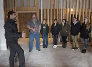South Hills students tour Holiday Inn Express