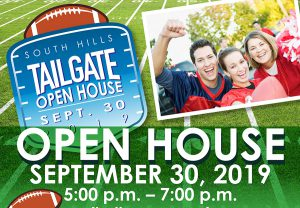 Fall 2019 Open House Tail Gate Poster Icon