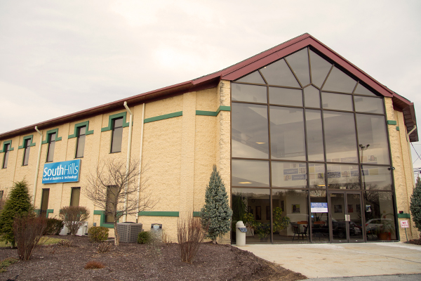 This photo shows the Altoona campus building