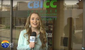 This is a photo of WHVL-TV's Brittany Wier.