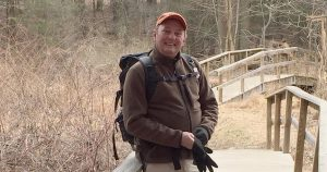 Dave Andrus on a hike