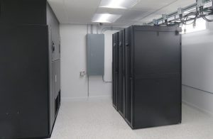 This photo shows the GoHost Servers
