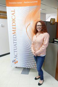 2013 Engineering Technology alumna Jody Christoff
