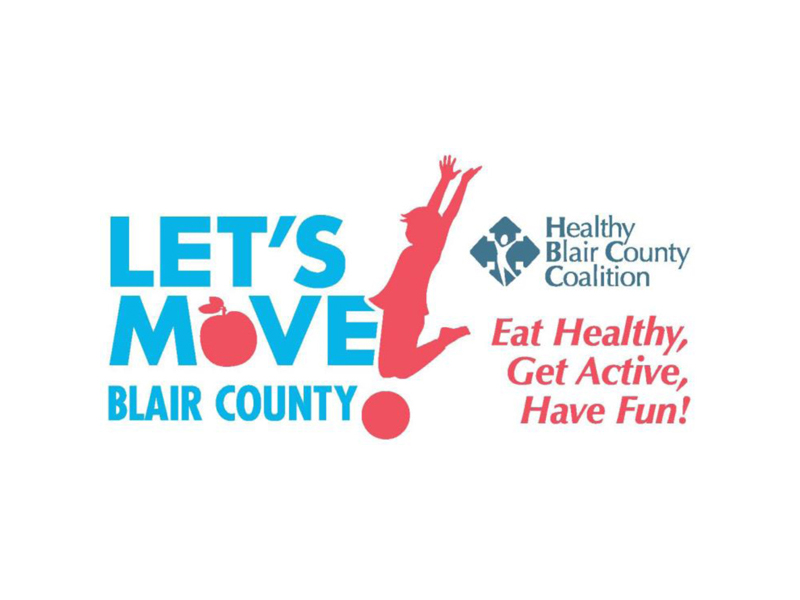 Let's Move Blair County Logo