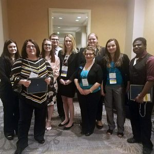 Phi Beta Lambda Students at State Conference