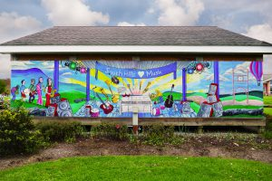 State College Main Campus Bandshell Mural