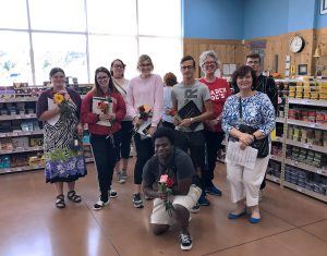 Business Administration Management & Marketing students at Trader Joe's